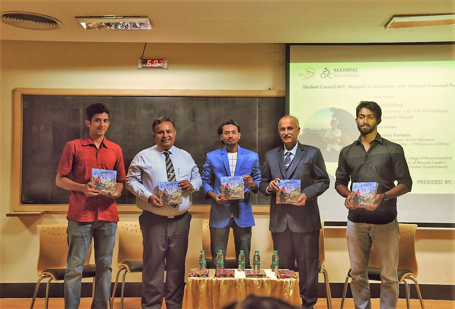 MIT faculty's book on journey into Himalayas released