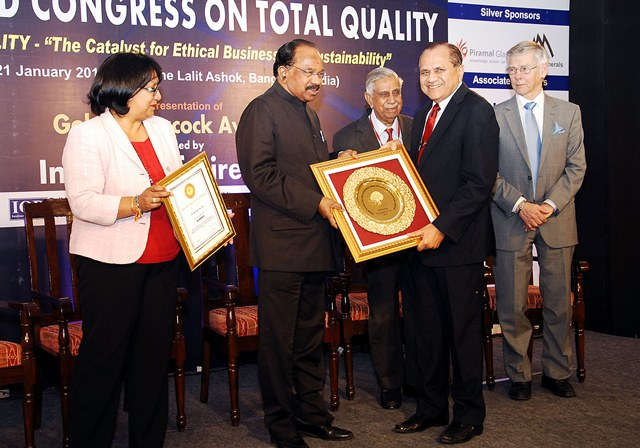 Golden Peacock Lifetime Achievement Award for the Year 2011 to Dr. Ramdas M Pai