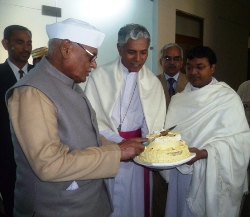 M.P Government Celebrates Christmas at C.M House and the Governor at Archbishop House