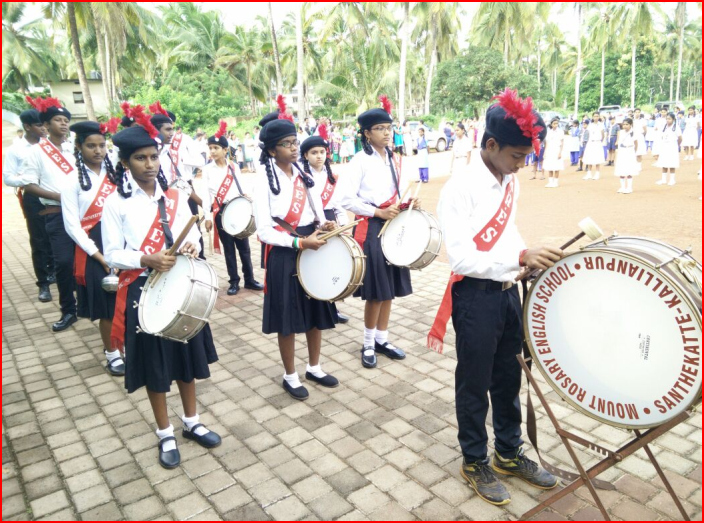 Independence Day Celebration in Mount Rosary School