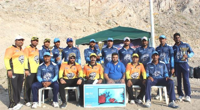 Oman:Royal Challengers wins 9th Edition of HCC Winter Cup 2017