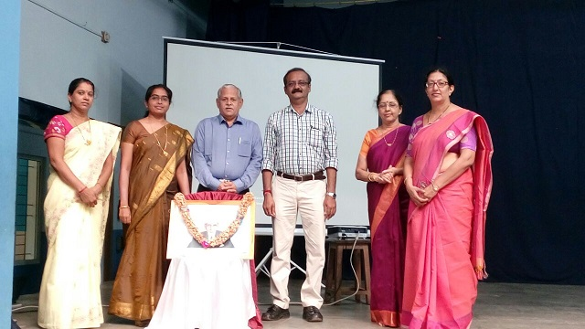 News report on Engineers day celebration at Madhava Kripa, Manipal