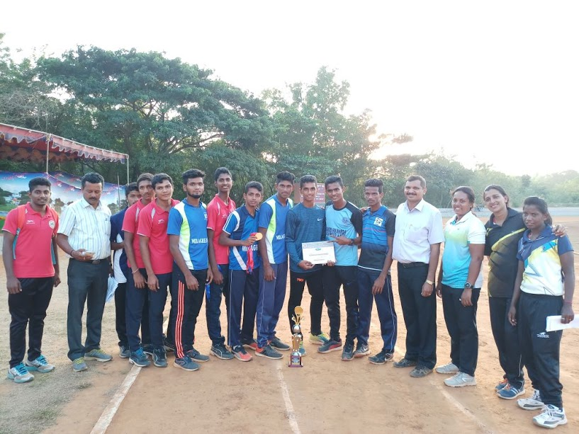 Splendid performance by students of Milagres paves the way to Natiional level Sports meet