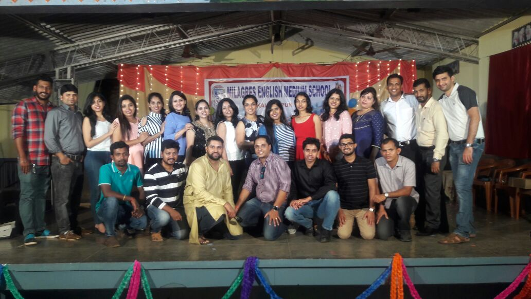 Re-union of 2003 SSLC batch of Milagres English Med. High School, Kallianpur