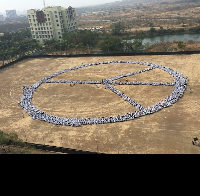 Guinness World Record Attempt for World Peace