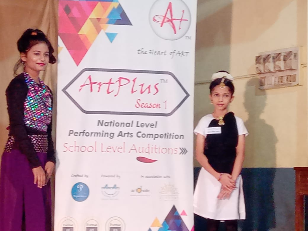 Two Students of Milagres English Medium Kallianpur shine in audition of Art Plus Season – 1 National Level Dance Competition