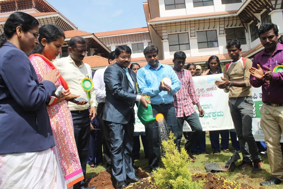 All citizens fundamental duty and right to keep clean environment of nature - T. Venkatesh Naik