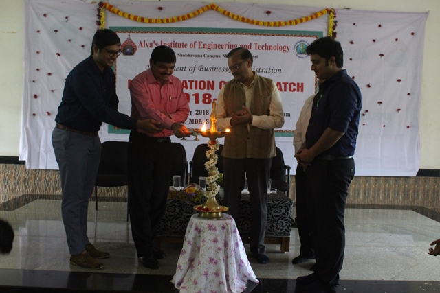 10th MBA batch inaugurated at Alva's.