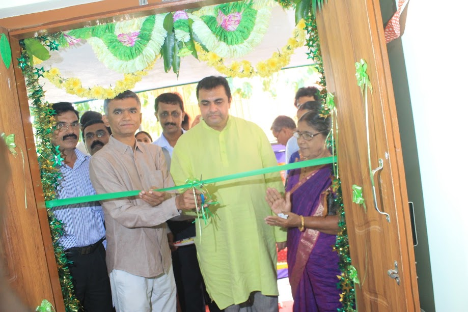 State Agriculture Minister Krishna Byre Gowda inaugurates Farmers' Information Center at Adi-Udupi