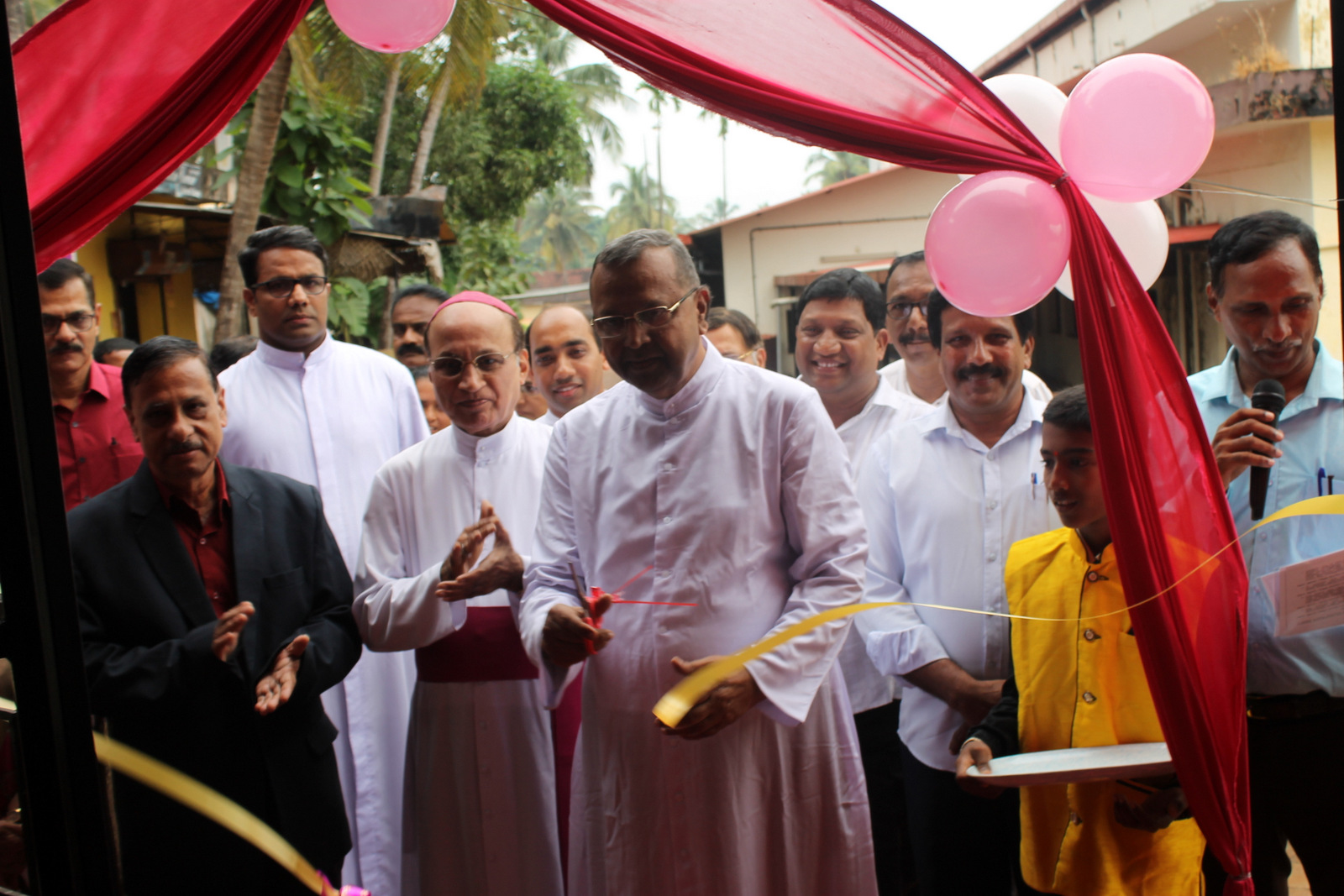 Newly Constructed building of St Joseph's Hr. Pry, School, Kallianpur inaugurated