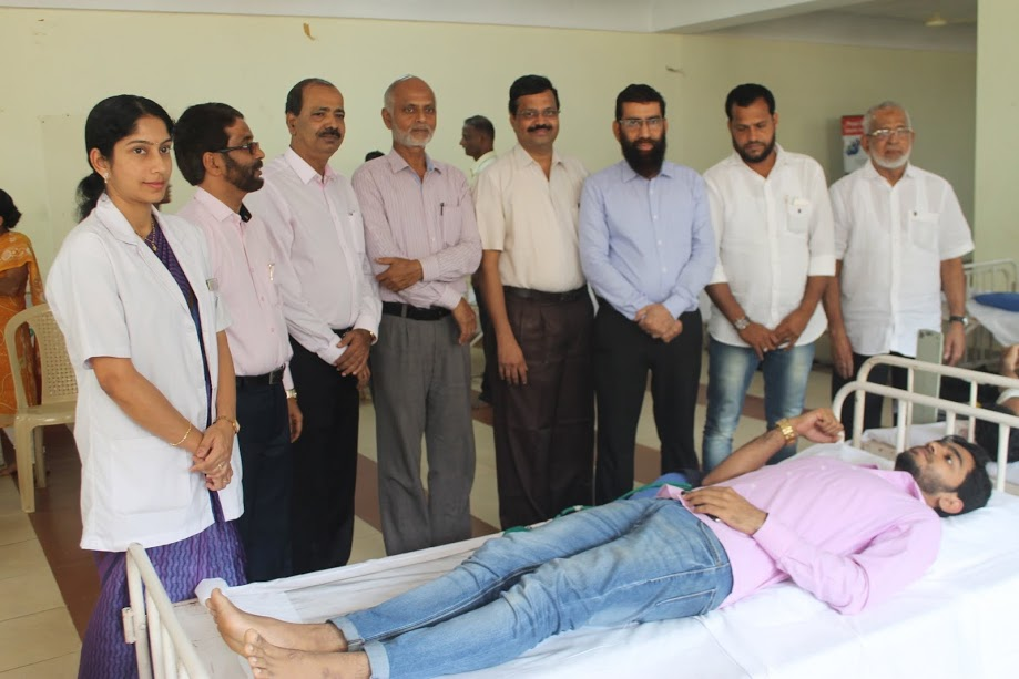 Muslim Welfare Association organized Blood Donation Camp at Udupi Zamia Mosque