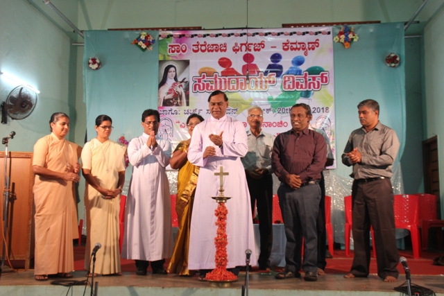 Small Christian Community Day celebrated at Kemmannu Church.