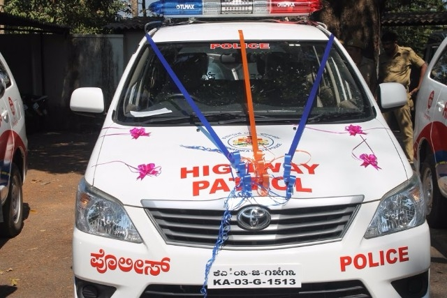 National Highway Police Patrolling three Vehicles launched