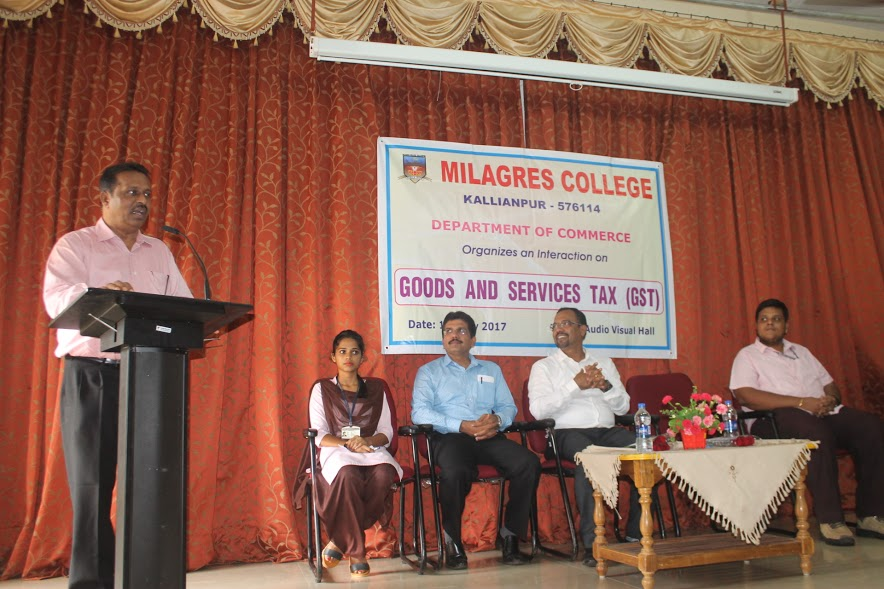 Milagres College organizes interaction programme on GST