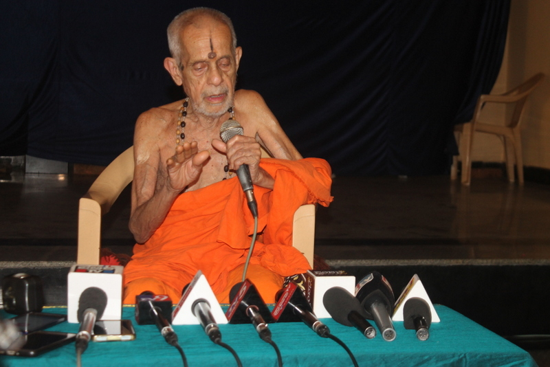 Pejawar Swamiji appreciates both Centre and State budget presentation