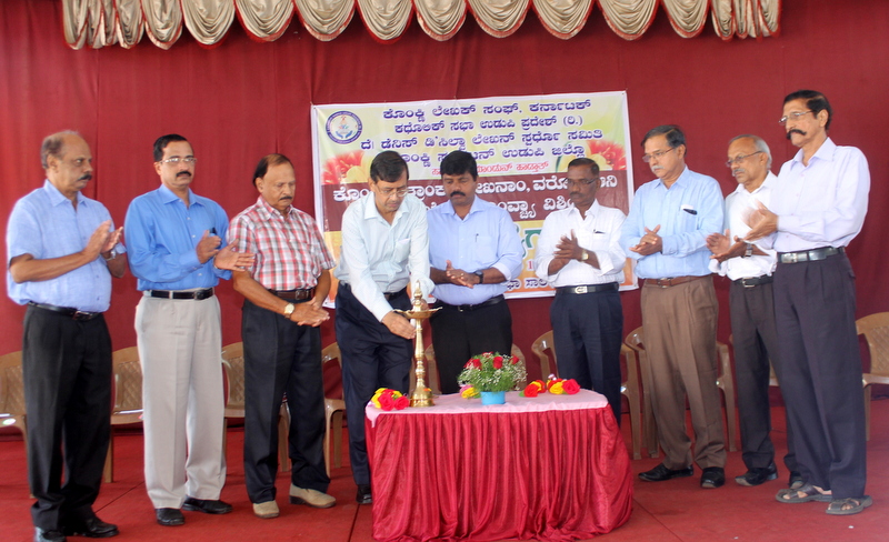 Workshop on short stories, articles, report writing in Konkani held at Udupi