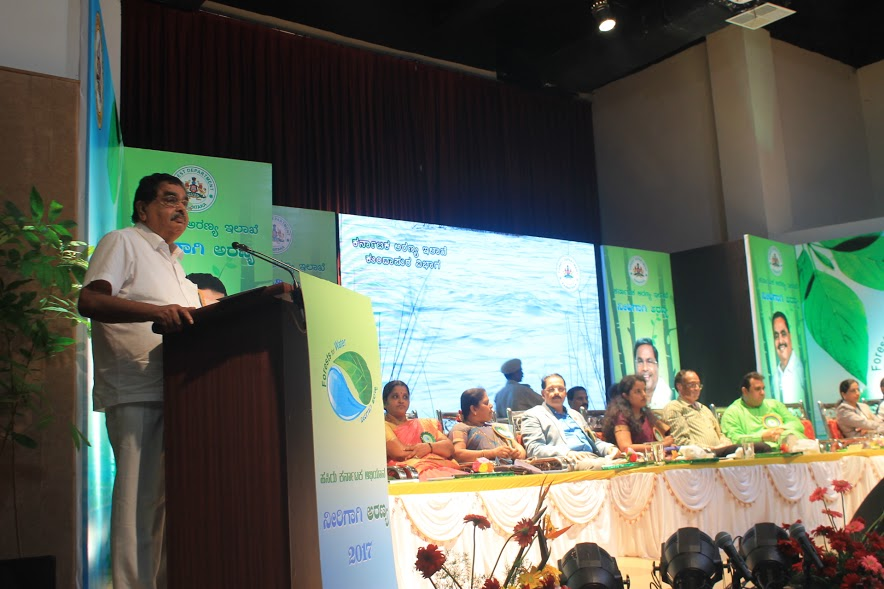 The threat posed by global warming and climate change cannot be ignored - Ramanath Rai, Minister for Forests