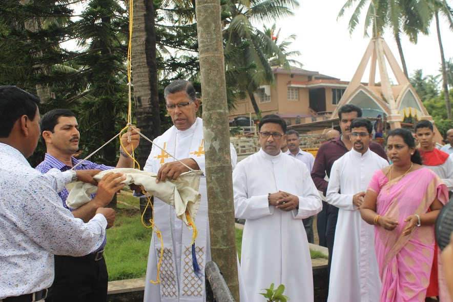 The Nine days Novena Services of the Our Lady of Velankani at Stella Maris Church, Kalmady begins