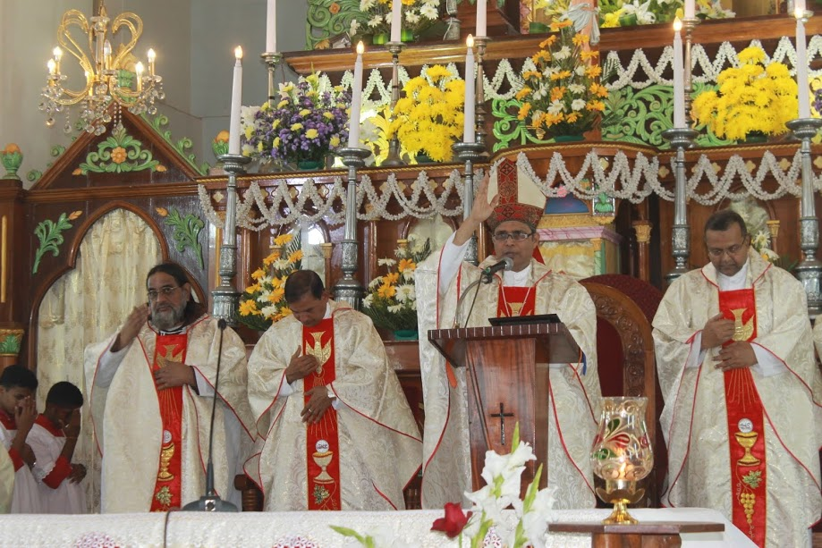 Milagres Cathedral Kallianpur celebrates Annual Feast with devotion and fervour