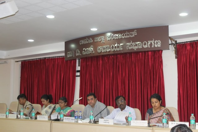 Udupi: Varahi Project dominated in KDP quarterly meeting at Rajathardi, Manipal