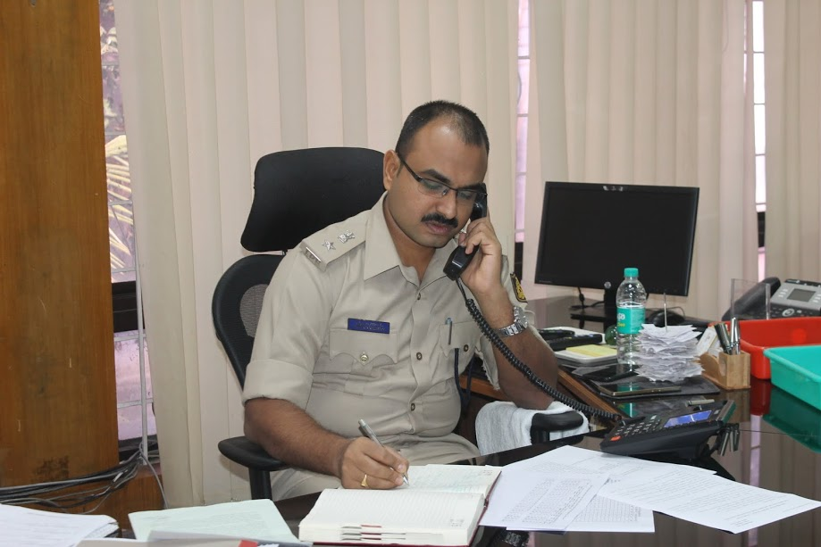 Rs. 5 lakh security Bond case against the Matka accused - Laxman Nimbargi, district SP