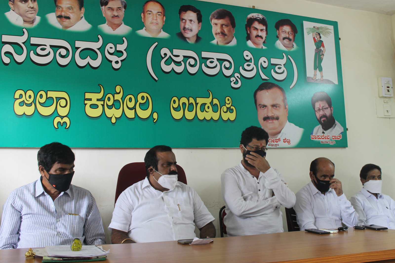 JD(S) supports for the state wide agitation of farmers and Karnataka Bandh on September 28