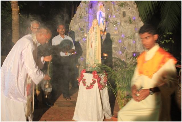 Special Rosary prayers to commemorate Fatima Sighting held at Kemmannu.