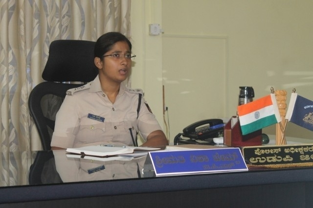 Arrested two police -men suspended in cattle trafficking case - SP Nisha James