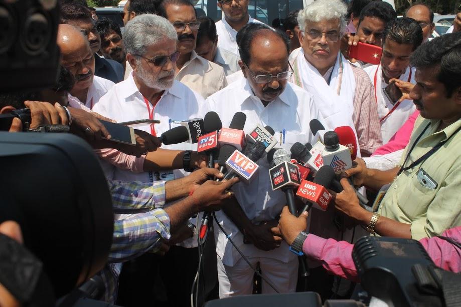 The selection of Karkala assembly seat all depends on Party High Command - Veerappa Moily, former CM