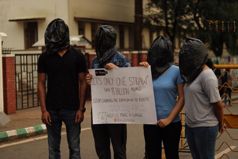 'StoPlastic Manipal' campaign by MAHE students