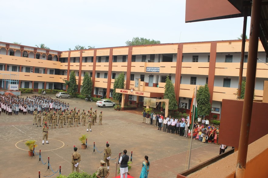 Milagres Educational Institutions celebrated 71st Independence Day with fervour and deep patriotism