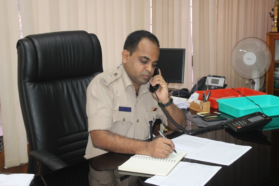 As many as 38 calls received during phone-in program of Superintendent of Police, Udupi district