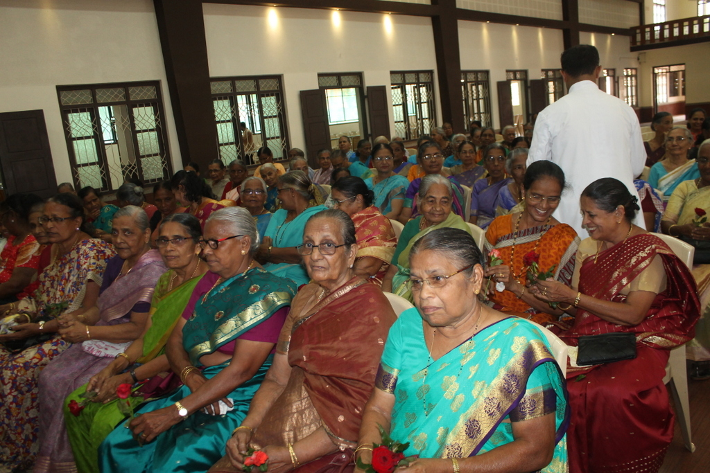 Milagres Cathedral, Kallianpur celebrates Elders' Day with unity and love