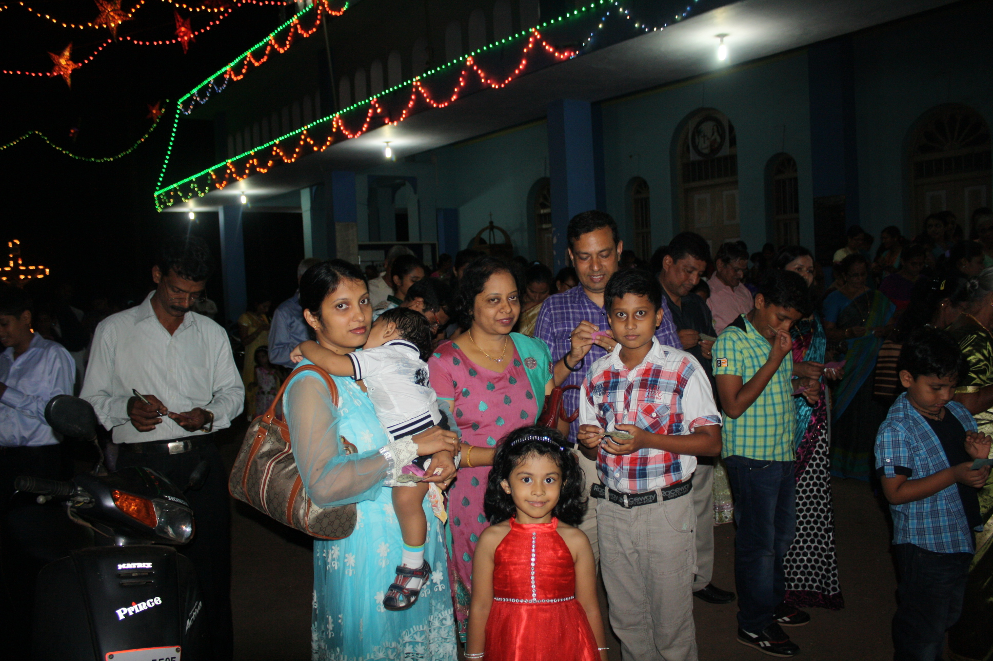 New Year Eve celebration at Kemmannu Church.