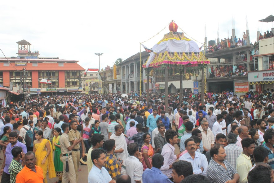Thousands take part in Vittal Pindi at Udupi