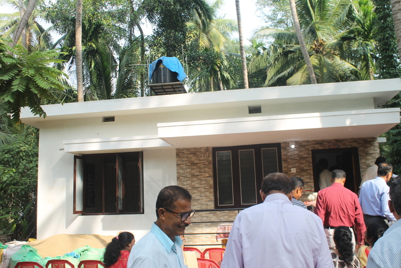 One believe in strengthening family unity and community constructs new home for much needed person at Kallianpur
