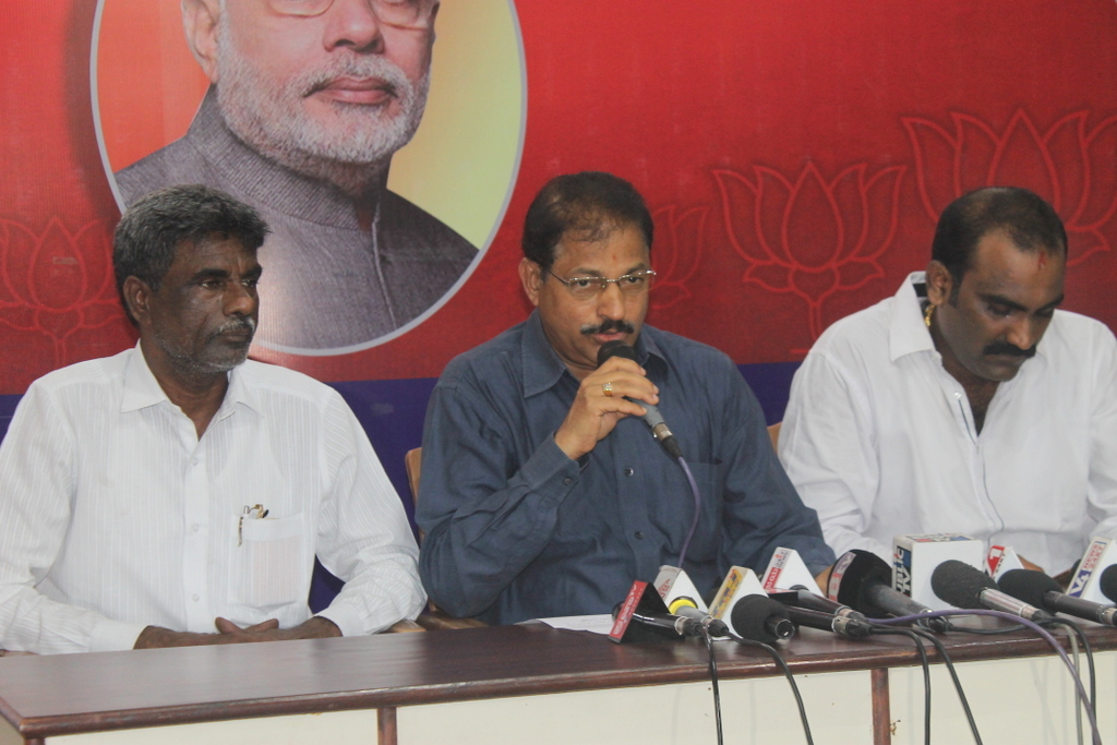 BJP ticket to Halady Srinivas Shetty - there is no complications and dissidence in BJP