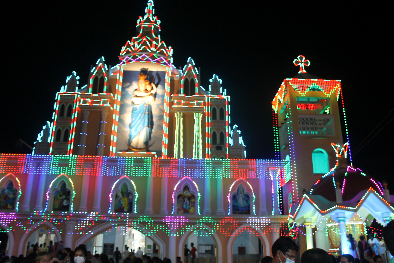 Vespers on the Eve of Annual Parish Feast observed in Milagres Cathedral Kallianpur with devotion