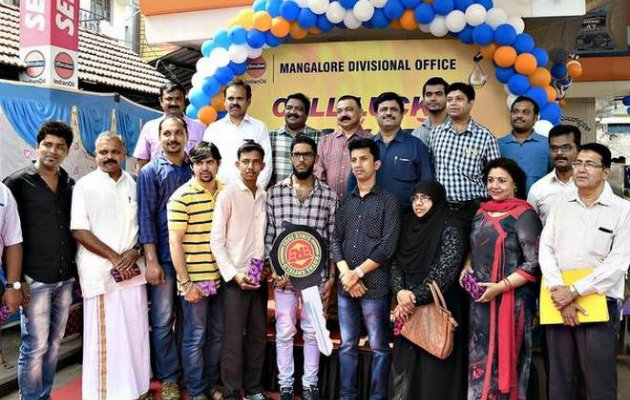 IOCL distributes prizes to winners of DK cashless drive