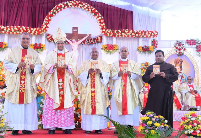 Mangalore: Book on the life of St Joseph in konkani released.