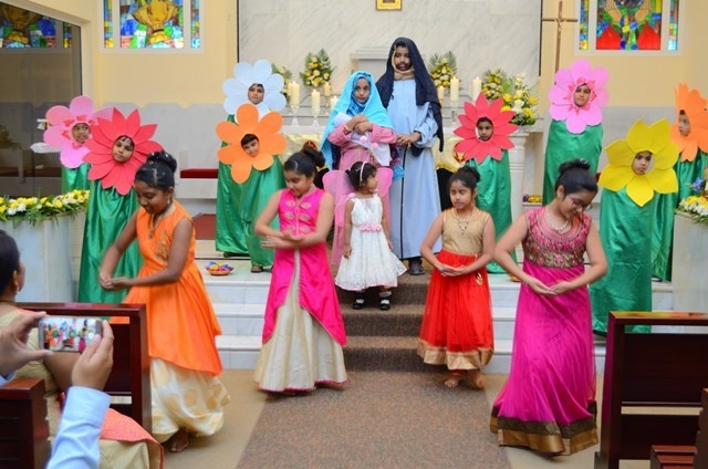 Mangalorean Community Celebrates Monti fest at St Antony's Church Sohar, Oman.