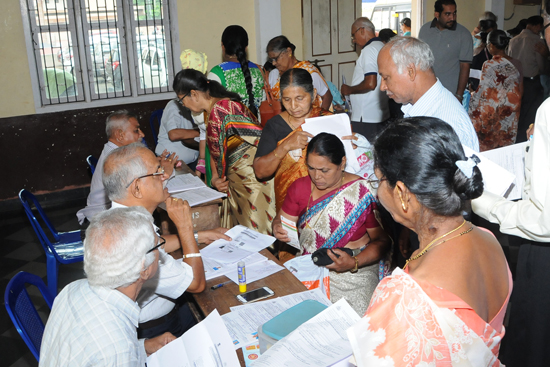 Udupi: Identity Card for Senior Citizens – A Program Organised by St. John's Evangelist Church, Shankerpura