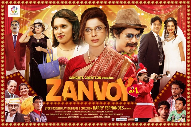 SUPER HIT KONKANI MOVIE 'ZANVOY NO.1' TO BE RELEASED IN LONDON ON 17TH MARCH