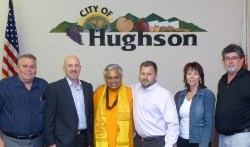 Hindu mantras opened Hughson City Council in California 1st time in 106 years