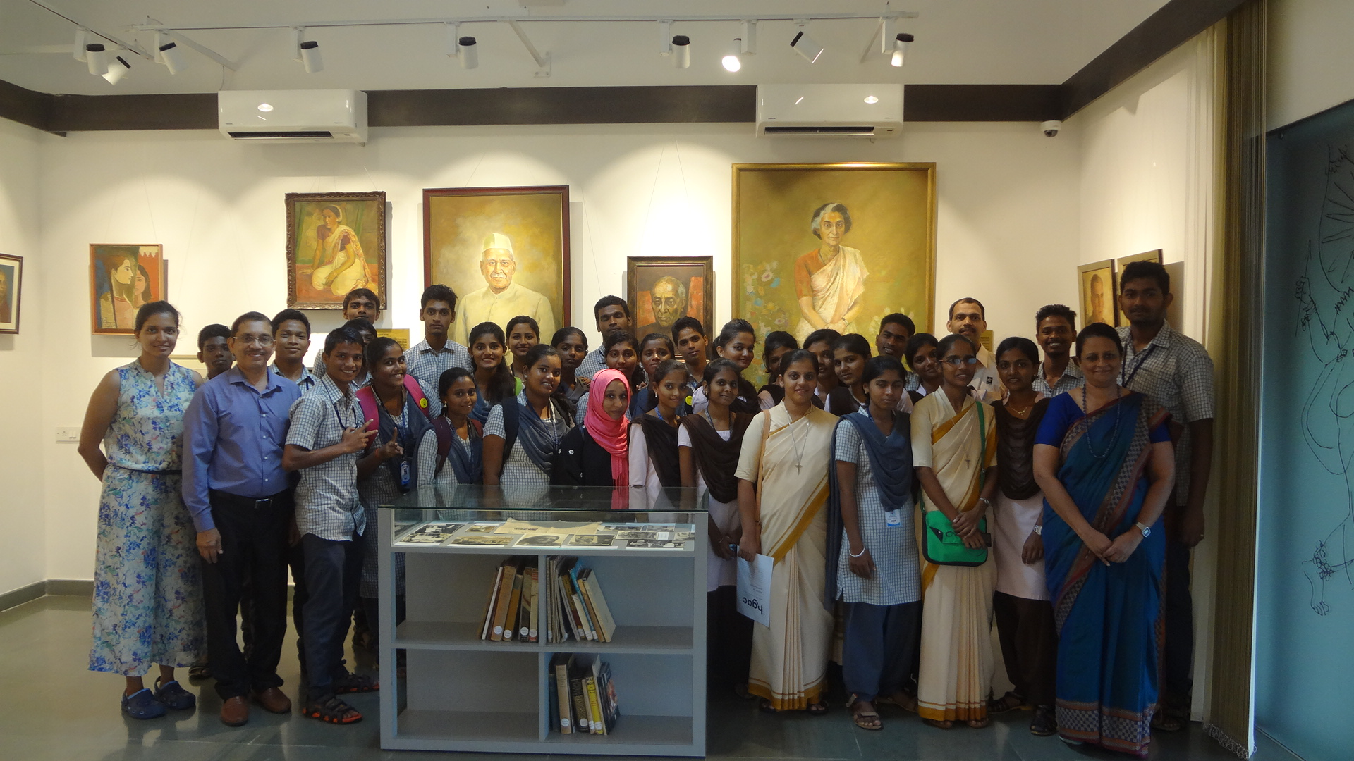 BA students of Milagres College visits Manipal University
