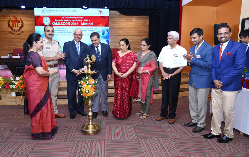 26th Annual Conference of Karnataka Medico Legal Society (KAMSCON - 2018) inaugurates at Manipal