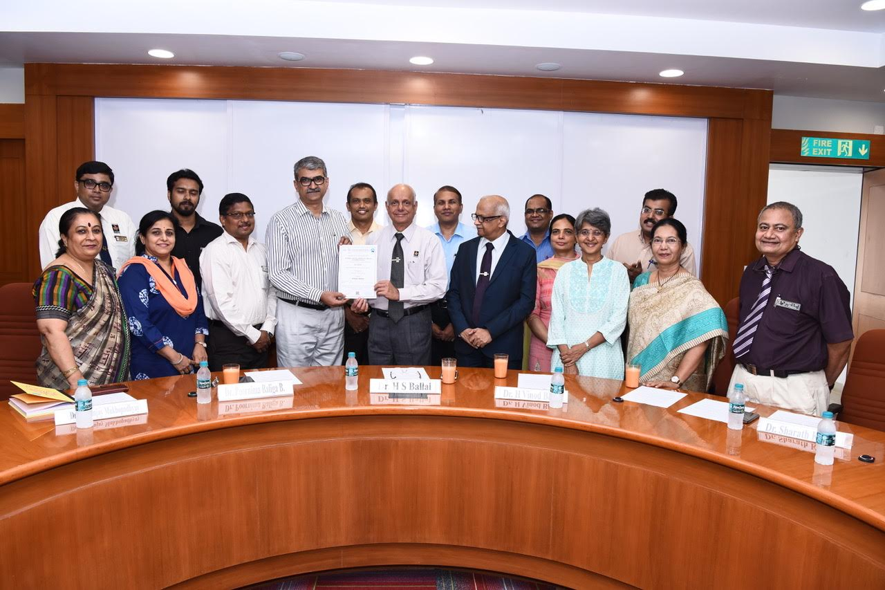 Laboratory service departments at Kasturba Hospital receive (NABL) accreditation