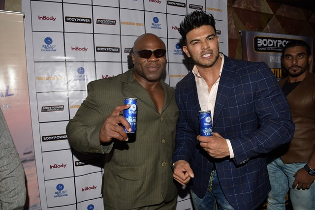 Mumbai Premiere of Generation Iron-2 with REALMIX Premium Energy Drink.