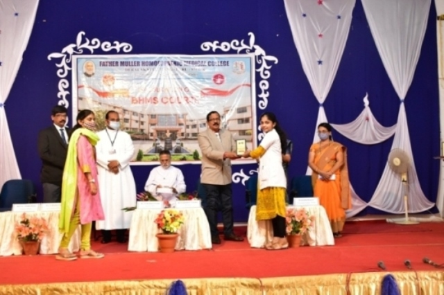 Mangalore: 36TH BATCH OF BHMS COURSE INAUGURATION