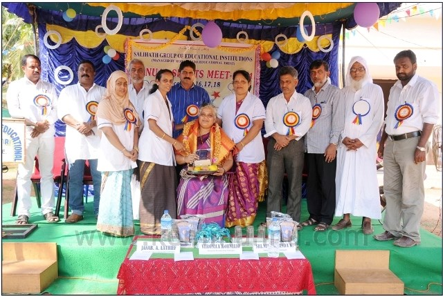 Hoode: Salehath Group sports meet - Veronica Cornelio Felicitated